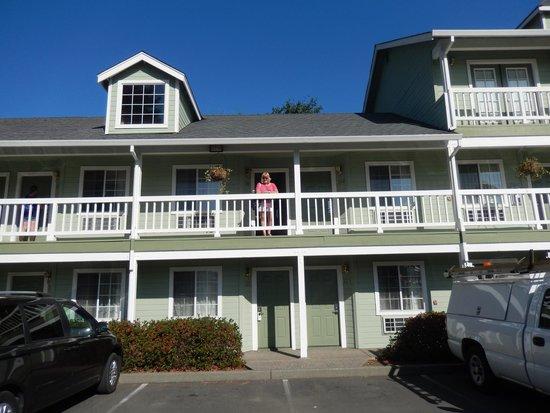Baechtel Creek Inn : We were on the first floor.