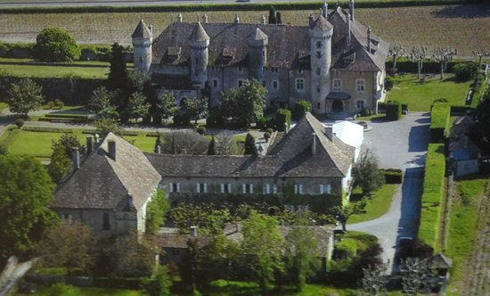 Chateau de Ripaille, jardins, vignobles: Vue Générale du Château