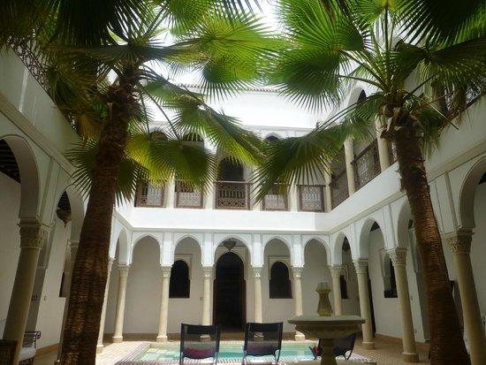 Le jardin d'Abdou : la cour interieure