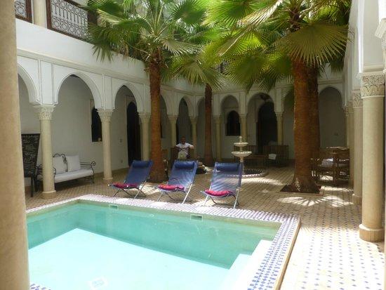 Le jardin d'Abdou : piscine