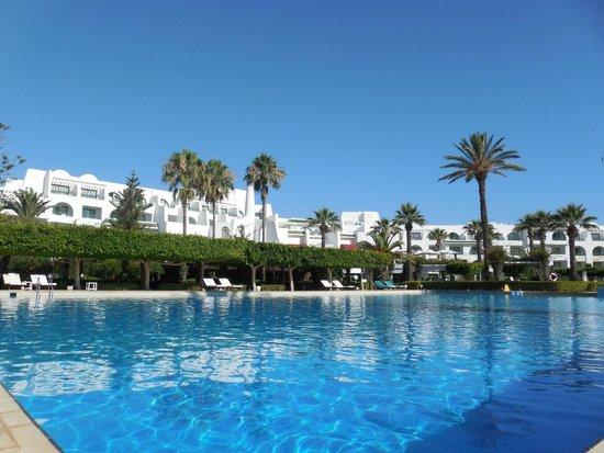 Hasdrubal Thalassa Hotel & Spa Port El Kantaoui: Piscine
