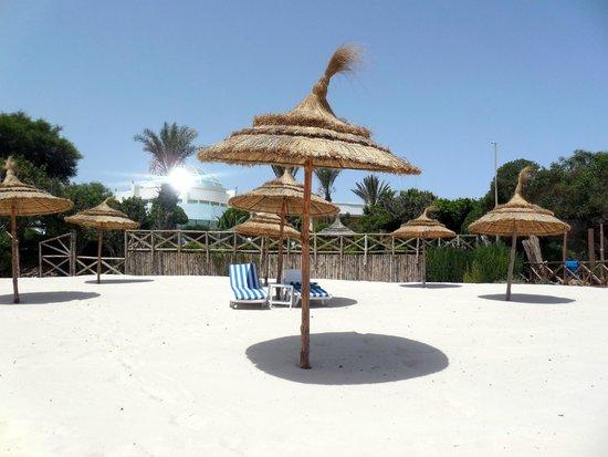 Hasdrubal Thalassa Hotel & Spa Port El Kantaoui: La plage