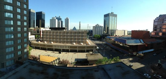The Westin Edmonton: view from the 12th floor looking North.