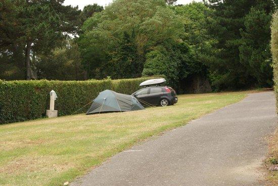 Camping Municipal La Cite d'Alet: teren kempingu
