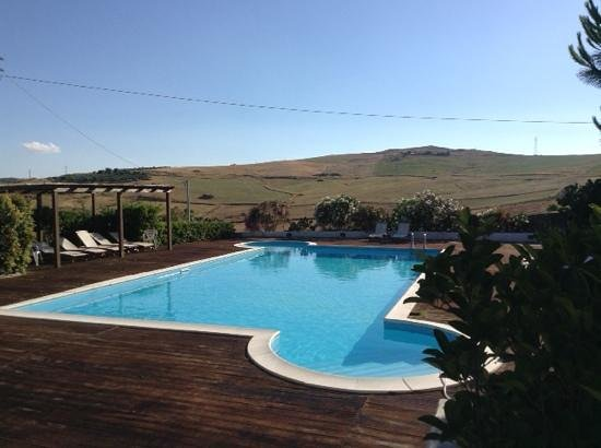 Agriturismo Sant'Agata: pool with a view