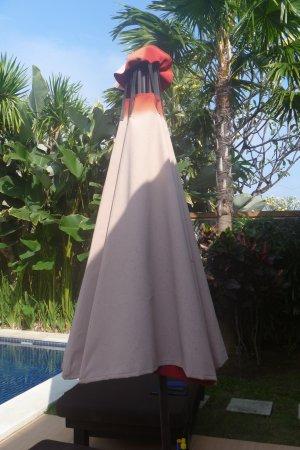 Bali Yubi Villa: Umbrealla color