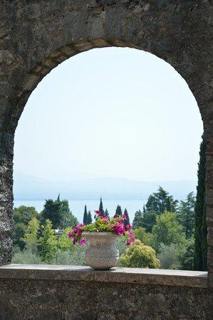 Il Vittoriale degli Italiani: Vista giardino