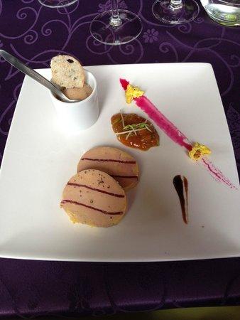 Restaurant Le Continental : Foie gras