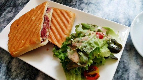 The Cafe At Royal Selangor Visitor Centre Smoked Beef Panini