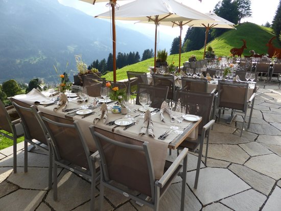 Berghaus Alpenrösli: 1450 m.ü.M.