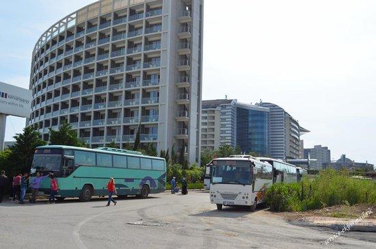 Kervansaray Hotel Kundu: Отель