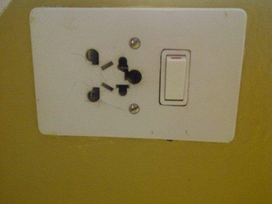 AVANI Victoria Falls Resort: plug socket fried