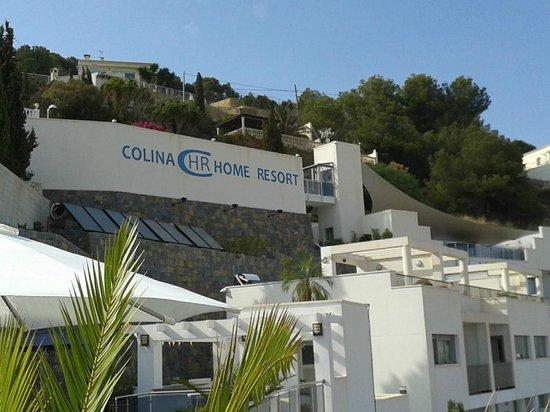 Colina Home Resort: desde la piscina