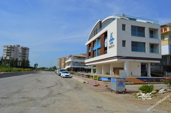 Baia Lara Hotel : рядом с отелем