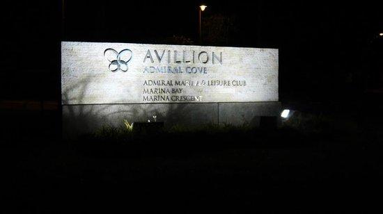 Avillion Admiral Cove : Main entrance