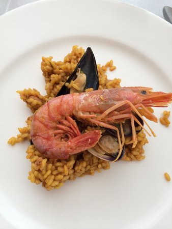 Restaurante Nit i Dia: Arroz a la marinera