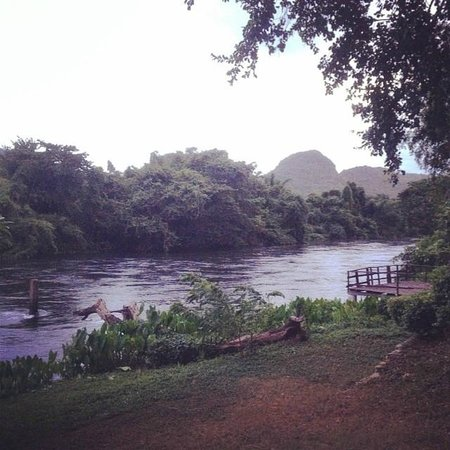 The Pavilion Rim Kwai : View of the river