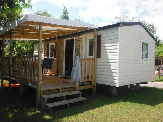 Camping Playa Joyel: le bungalow