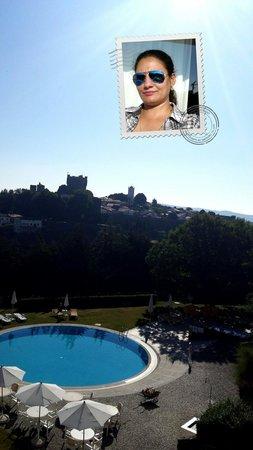 Pousada de Braganca São Bartolomeu: View from my room's balcony at Pousada de Bragança, S.Bartolomeu.