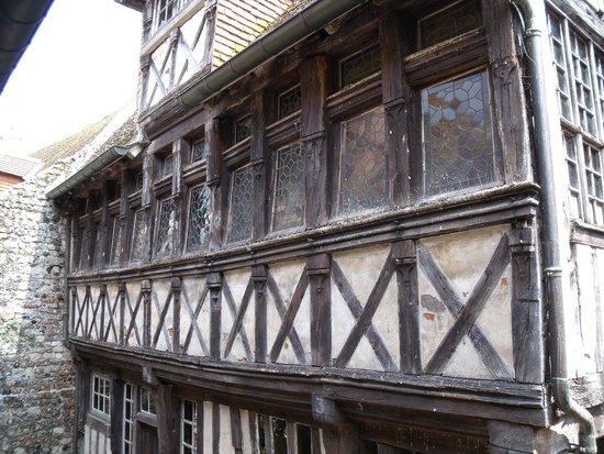 Musée du Vieux Honfleur : Vestige de maison Normande