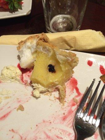 BEST WESTERN Shap Wells Hotel: Lemon meringue pie, with extras.
