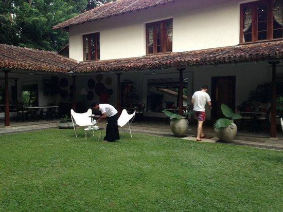 The Kandy House : Patio