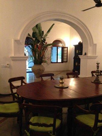 The Kandy House: Entrada