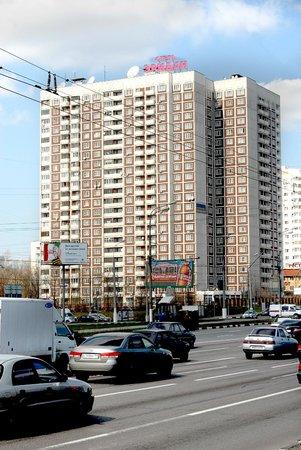 Eridan Aparthotel : Апартотель Эридан. Вид с Варшавского шоссе