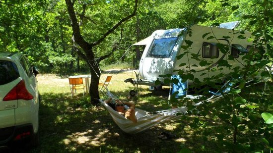 Camping Huttopia Dieulefit : Camping nature