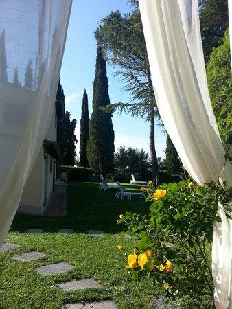 Villa I Barronci: Vue.magique..