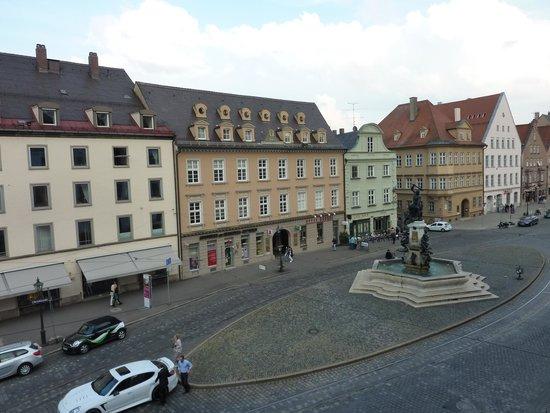 Steigenberger Hotel Drei Mohren: Blick 1 auf Straßenseite