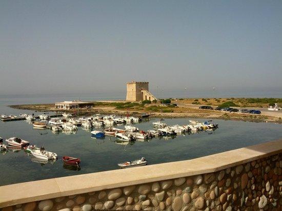 Hotel Alba : Camera vista Torre Lapillo