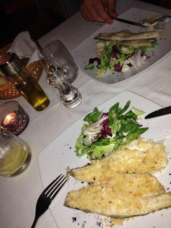 Etoile Restaurant: Secondo: Branzino in panure all'arancia