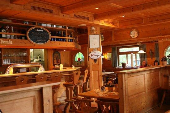 Restaurant Zauberstubn Oberammergau: The inside