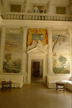 Villa Barbaro: Internal