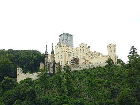 Rheintal: Stolzenfels Castle.