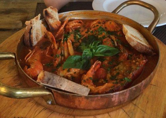 Ristorante Al Pirata: Seafood soup Al Pirata