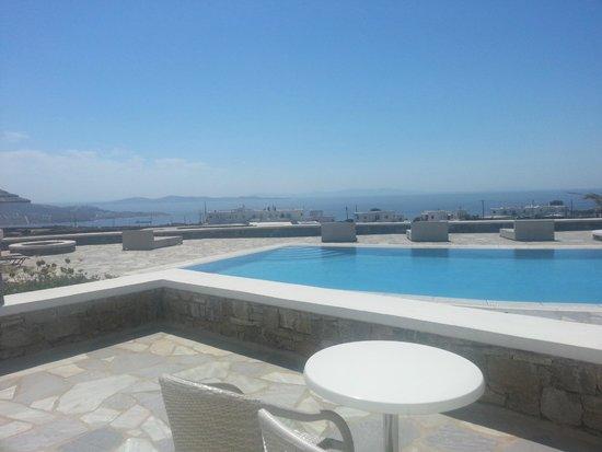 Aeolos Mykonos Hotel : vista