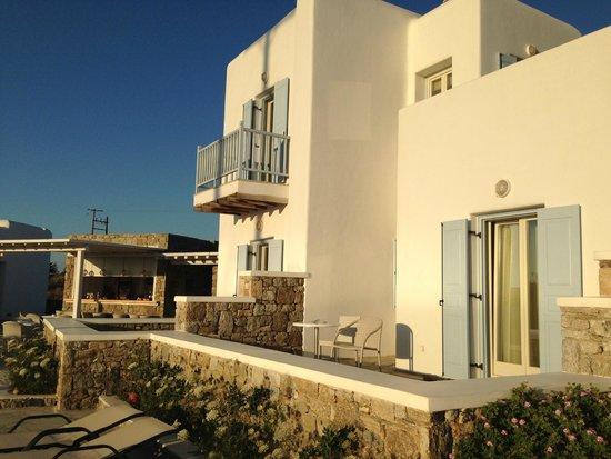 Aeolos Mykonos Hotel : struttura