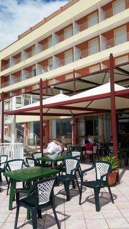 Hotel Columbus : Bar/terasse