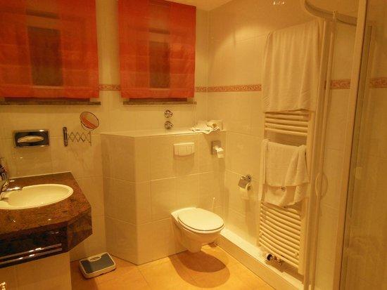 Hotel Tanneck: ванная