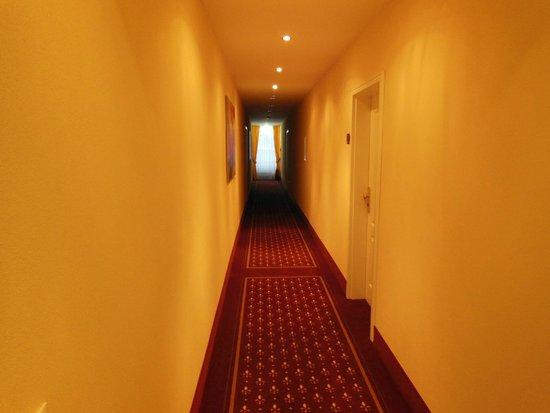 Hotel Tanneck: коридор