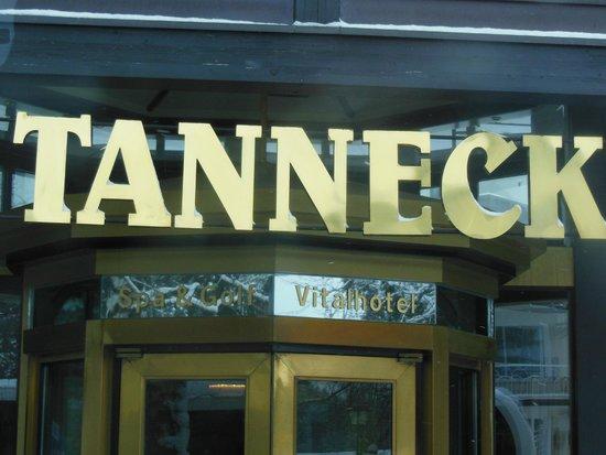 Golf & Spa Hotel Tanneck: вход