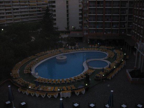 Ohtels Belvedere : uitzicht kamer zwembad