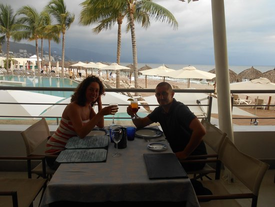 Secrets Vallarta Bay Resort & Spa: lunch at Oceana