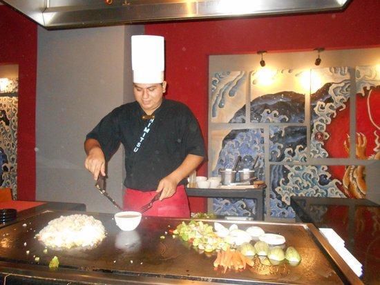 Secrets Vallarta Bay Resort & Spa: Teppanyaki