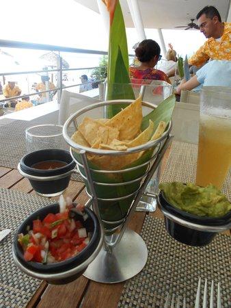 Secrets Vallarta Bay Puerto Vallarta: luch starter at Oceana
