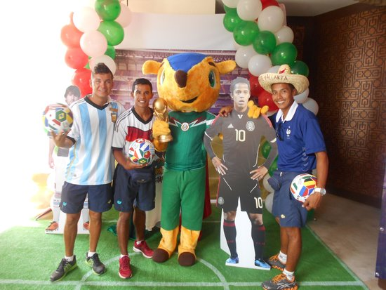Secrets Vallarta Bay Puerto Vallarta: World cup kick off!!!