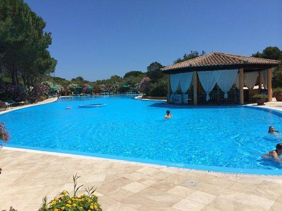 La piscina di acqua salata picture of park hotel porto - Piscina acqua salata ...