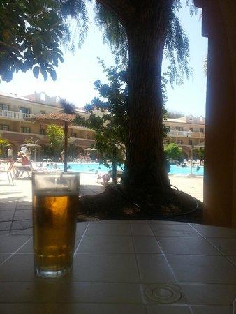 Elba Lucia Sport & Suite Hotel: Terraza